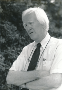 Ed Christman in 1991, age 61.  Photo by Susan Mullally.