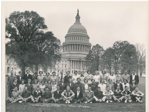 Jean chapteroned several high school trips to Washington DC, including one during the time that Ed received his call to ministry.
