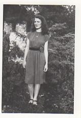 Jean as a Bethel Junior College student.